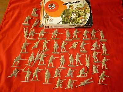 Vintage Collectable Airfix Model Toy Soldiers Boxed Military Series Japanese
