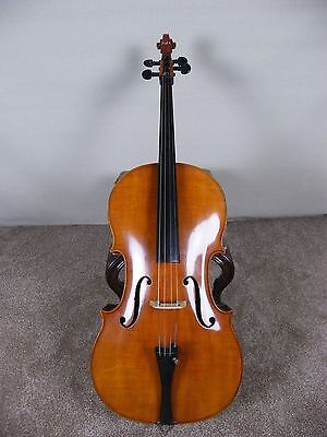 ANTIQUE 3/4 CELLO BY ANTON SCHROETTER MASTER ART COPY No11 GERMANY