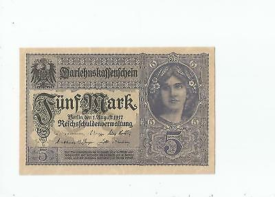 Germany   5   Mark  1917