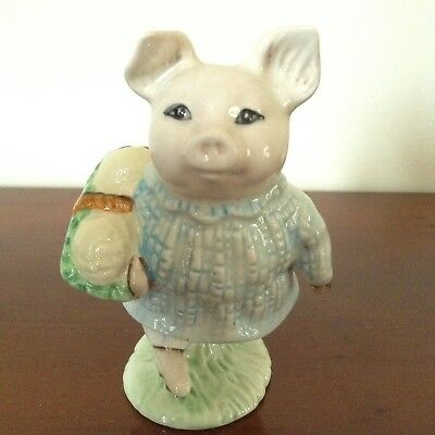 Royal Albert Figure Little Pig Robinson from Beatrix Potter