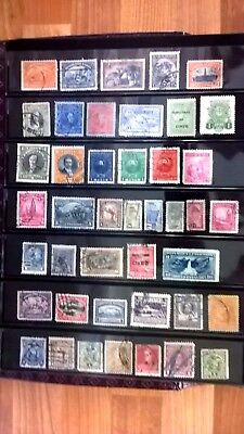 South and Central America countries selection 1920`s - 1940`s