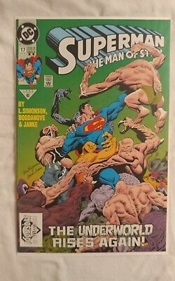 Superman: The Man of Steel #17  Doomsday 1st Appearance 2ND Printing