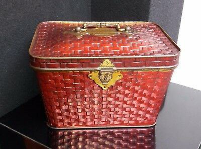 Scatola latta da collezione - Antique Litho Tin Box - Boite Ancienne - Blechdose