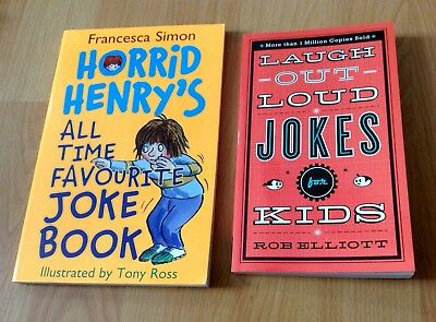 set 2 childrens joke books