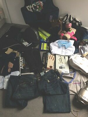 Job Lot New Ladies Riding/Equestrian Wear, Hat, Body Protector, Gloves, Tops Etc