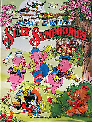 "CARTONATONI WALT DISNEY - "" SILLY SYMPHONIIES "" 1a Ed. 1987"