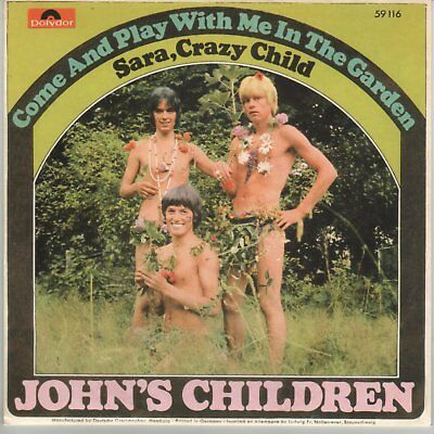 Johns Children Marc Bolan Come Play With Me German Reissue