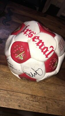 UEFA Cup Final 1994 Arsenal Signed Football
