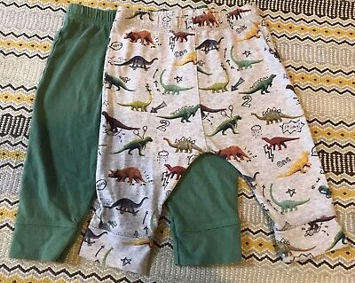 Next Boys Dinosaur Trousers 3-6 Months