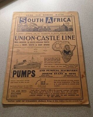 vintage rare south africa newspaper from 1940 ww2