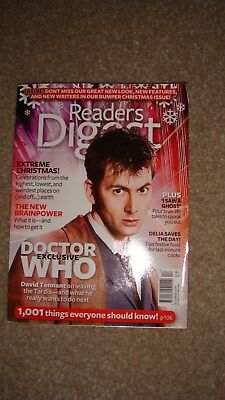 Rare and Hard to Find Readers Digest David Tennant Doctor Who 2009