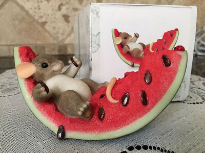 Charming Tails 98274 Watermelon Feast Retired