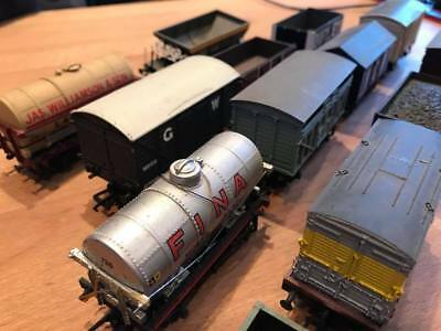 Bachmann OO gauge wagons Mixed job lot of 13 with NO RESERVE!