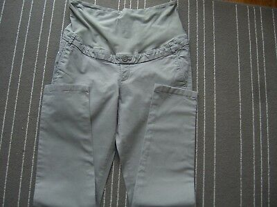 MAMA H&M Maternity stretch skinny Grey trousers size 12