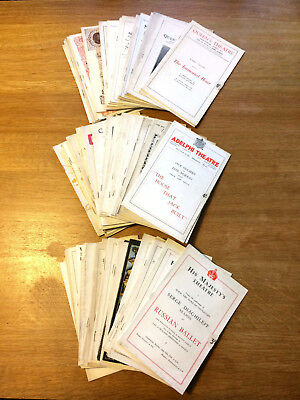 Large Collection of over 80 London Theatre Programmes 1920s - 30s