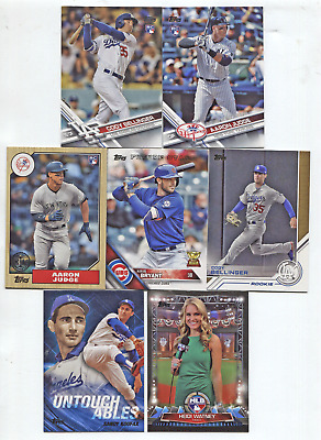 2017 Topps Update Complete Master Set #US1-300 + All 189 Inserts Bellinger,Judge