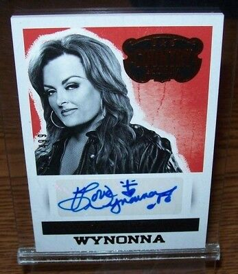 Wynonna 2014 Panini Country Music Autographed Card 149/499 Made
