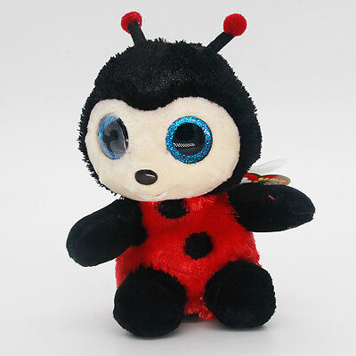 """New 6"""" Ty Beanie Boos Red Bee Baby Plush Stuffed Animals Soft Kids Toys Hot"""
