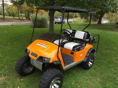 Ezgo golf cart Denver Broncos