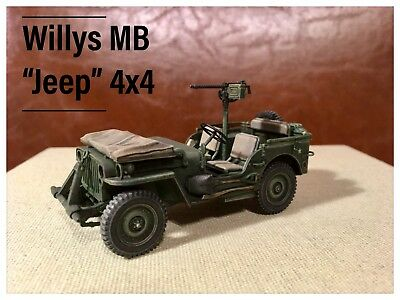 "1/35 Pro Built Beautifully finished Willys MB ""jeep"" 4X4 Pacific USMC Marines"