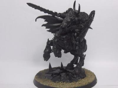 ARCHAON / CHAOS GENERAL ON DAEMON STEED;  AoS, CHAOS, WARHAMMER - METAL OOP