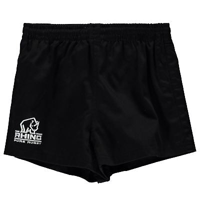 Rhino Rugby Twill Shorts Youngster Boys Pants Trousers Bottoms