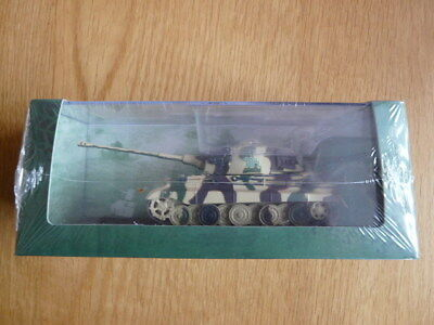 Unopened 1:72 Atlas Editions Ultimate Tank Collection Pz Kpfw Vi King Tiger 1944