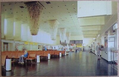 Postcard of Manchester Airport.