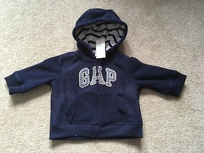 New with tags baby Gap boys 3-6 months hoodie/ zip-up top