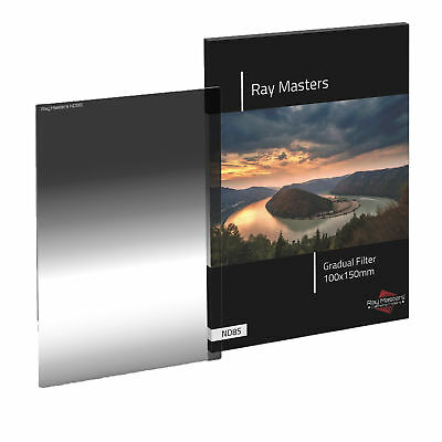 Ray Masters Graduated ND 8 Filter Grad Soft Edge Fits Cokin & LEE 100mm Series