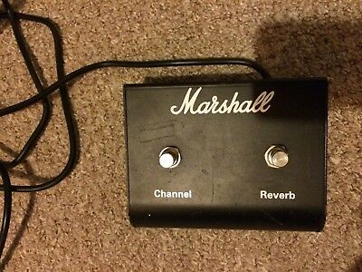 marshall dual foot switch pedal (Channel and Reverb)