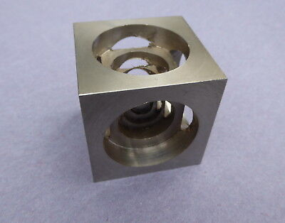 stainless steel paperweight, engineering piece
