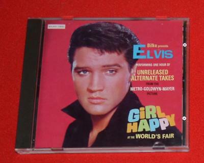 "Elvis ""Girl Happy at the Worlds Fair"" Unreleased Tracks Bilko CD Very RARE MINT"