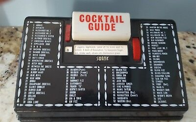 Vintage 50's Swank Cocktail Bar Recipe Guide