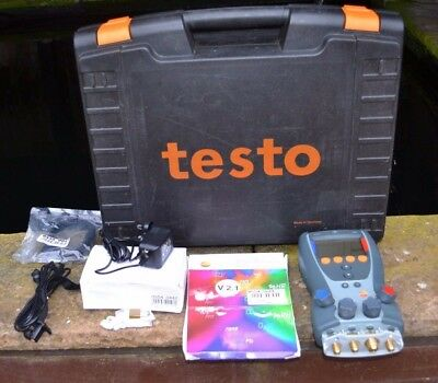 Testo 560-1 Digital Refrigeration Manifold With Carry Case