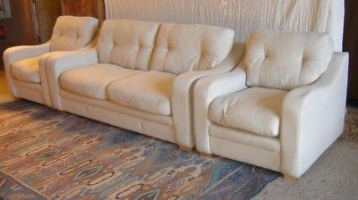 Modern 3 Piece Lounge Suite, Made 2012 -Collection Only!