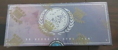 1996 Star Trek Reflections of the Future Phase Three Factory Sealed Hobby Box