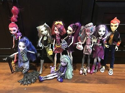 Monster High Bundle, Fab Condition