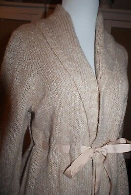 Oh Baby by Motherhood Maternity Beige Sweater Size M New With TAGS