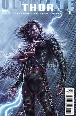 Ultimate Comics Thor #1 1-In-20 Choi Villain Variant Hickman Nm
