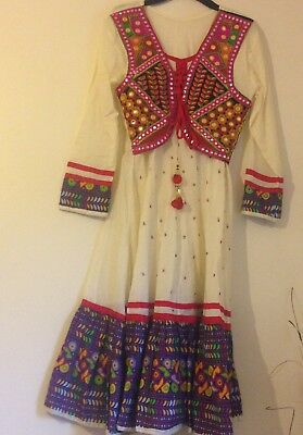 Asian Pakistani Indian Long dress Kurta Casual/ Party Wear