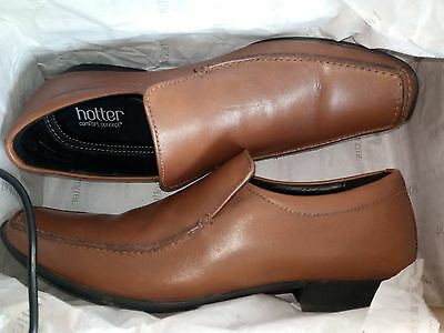 Mens Shoes Tan,   New In Box  Hotter   Size 8