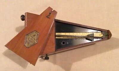 Antique French Metronome. Working order.