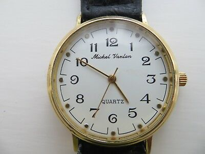 Mens 'Michel Vanlan' Quartz watch for spares or repair