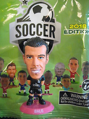 Bale Real Madrid Away 2018 SoccerStarZ Foil Bag MicroStars Hot Pink Base 17/18