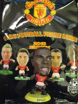 Bailly Manchester Utd. 2018 SoccerStarZ Foil Bag MicroStars Yellow Base 17/18