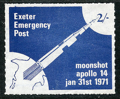 Exeter Emergency Post 2/ Blue