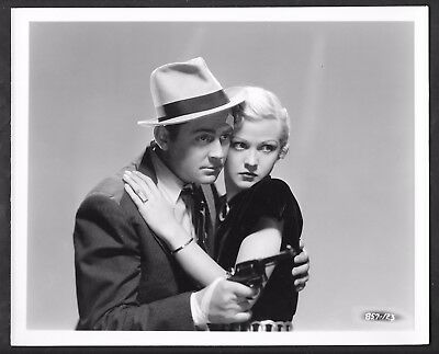 1936 Jean Rogers James Dunn Original Ray Jones Photo Mysterious Crossing