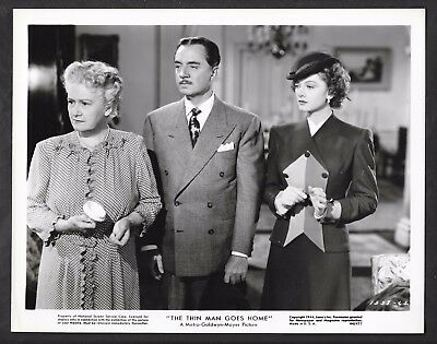 1944 The Thin Man Goes Home Orig Photo Myrna Loy William Powell