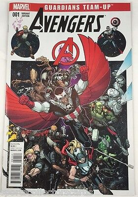 COMIC AVENGERS GUARDIANS #001 VARIANT EDITION MARVEL Team-Up